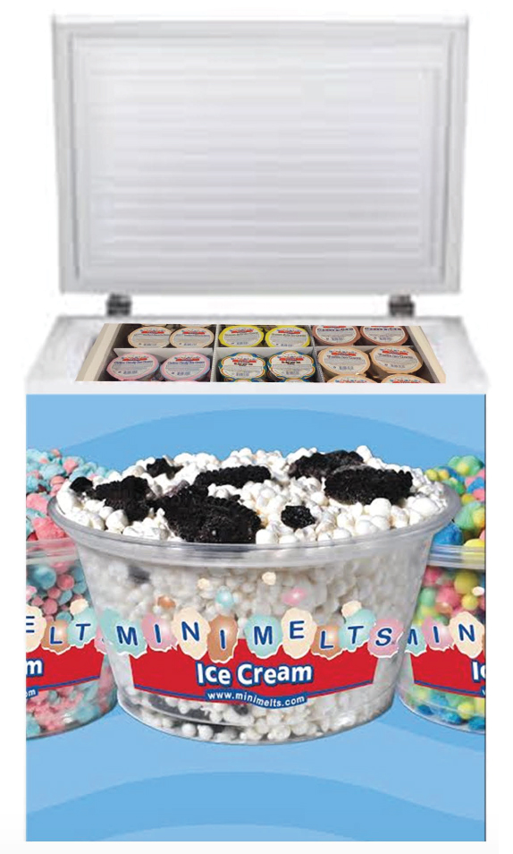 Mini Melts Grab & Go Freezer